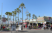 J's Rentals on Windward Avenue and the Boardwalk in Venice Beach