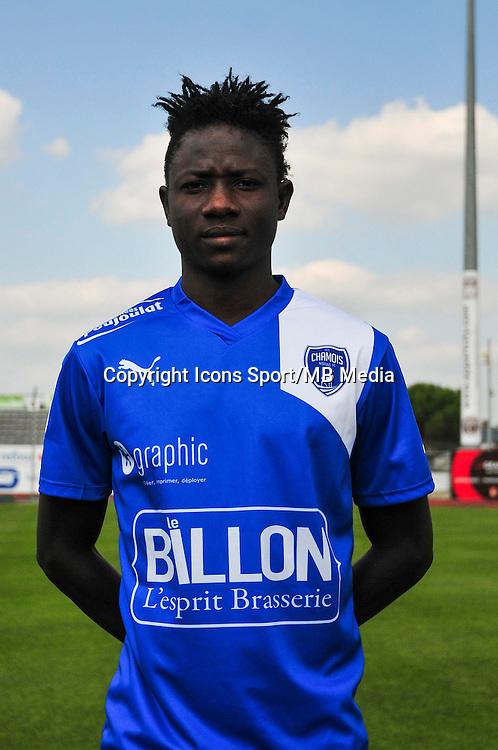 Louckmane Ouedraogo - 05.09.2014 - Photo officielle Niort - Ligue 2 2014/2015<br /> Photo : Philippe Le Brech / Icon Sport