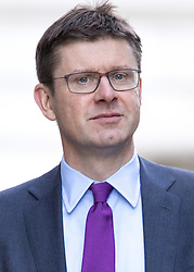 © Licensed to London News Pictures. 29/11/2016. London, UK. Secretary of State for Business, Energy and Industrial Strategy Greg Clark arriving in Downing Street to attend a cabinet meeting this morning. Photo credit : Tom Nicholson/LNP