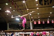University of Arkansas Razorback 2010-2011 Women's Gymnastics Team action photos<br /> <br /> <br /> <br /> ©Wesley Hitt<br /> All Rights Reserved<br /> 501-258-0920