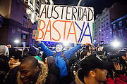 "23F: ""Citizens' tide"" against austerity in Madrid, Spain"