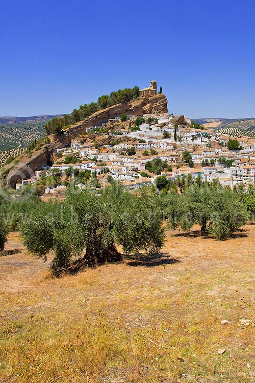 Alberto Carrera, Montefrío, Medieval Village, Granada, Andalucía, Spain, Europe