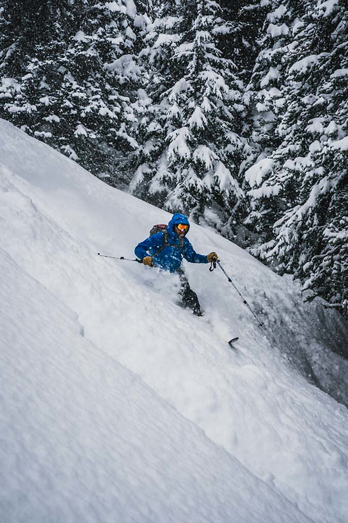 Over 45cm's fell during a 12 hour period at Burnie Glacier, British Columbia, and Josh Breau was there.