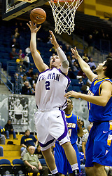December 28, 2009; Berkeley, CA, USA;  Furman Paladins forward Neil Duval (2) shoots against the UC Santa Barbara Gauchos during the second half at the Haas Pavilion.  UC Santa Barbara defeated Furman 72-60.