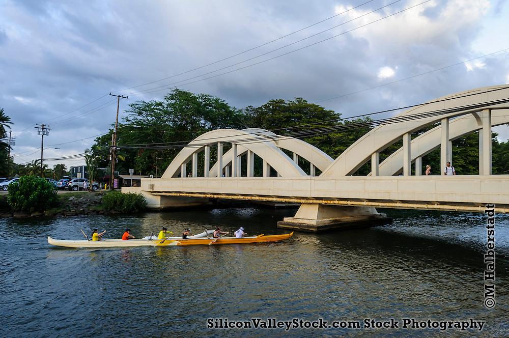 Anahulu Stream Bridge, Hawaii