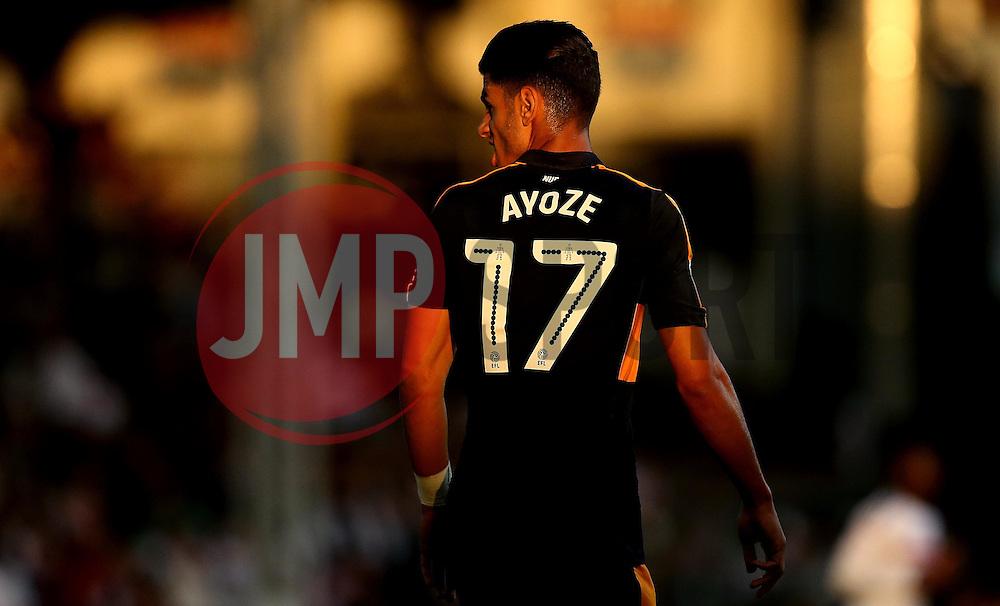 Ayoze Perez of Newcastle United turns in the evening sunlight - Mandatory by-line: Robbie Stephenson/JMP - 05/08/2016 - FOOTBALL - Craven Cottage - Fulham, England - Fulham v Newcastle United - Sky Bet Championship