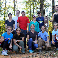 Volunteers- Rocky River + Pharr Preserve   10 18 2014