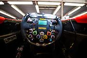 December 3-4, 2016: Ferrari Finali Mondiali, F2001 steering wheel detail