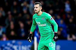 Martin Dubravka of Newcastle United - Mandatory by-line: Robbie Stephenson/JMP - 12/04/2019 - FOOTBALL - King Power Stadium - Leicester, England - Leicester City v Newcastle United - Premier League