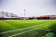 during the Sky Bet League 2 match between York City and Plymouth Argyle at Bootham Crescent, York, England on 14 November 2015. Photo by Simon Davies.