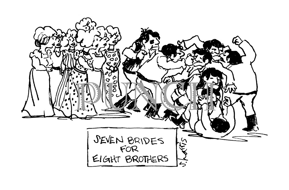 Seven Brides for Eight Brothers