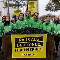 """26 Greenpeace Aktion """"Raus aus der Kohle"""""""