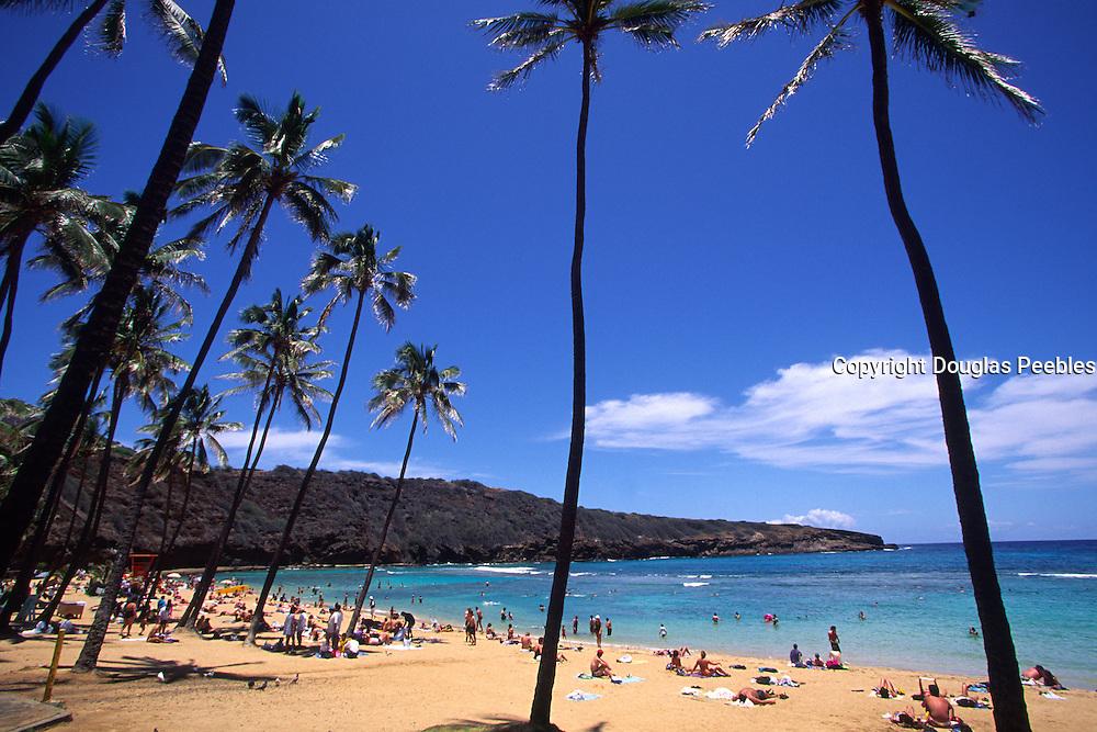 Hanauma Bay, Oahu, Hawaii, USA<br />