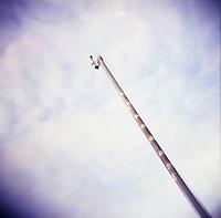 CCTV traffic surveillance camera in Dublin Ireland
