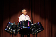 Special Guest Dr. Ellie Mannette, the Grandfather of the Steel Pan, performed at Ohio University's 4th Annual World Music & Dance Concert, Global Excursions, on Satruday, February 2, 2013.