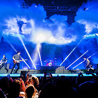 The Vamps in concert at The SSE Hydro Glasgow, Great Britain 29th April 2017