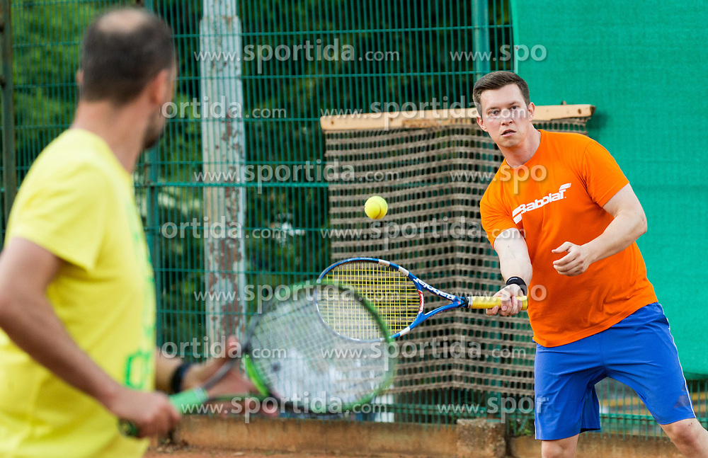 Ziga Koscak at Petrol VIP tournament 2018, on May 24, 2018 in Sports park Tivoli, Ljubljana, Slovenia. Photo by Vid Ponikvar / Sportida