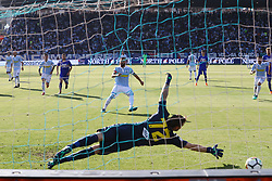 """Foto /Filippo Rubin<br /> 20/05/2018 Ferrara (Italia)<br /> Sport Calcio<br /> Spal - Sampdoria - Campionato di calcio Serie A 2017/2018 - Stadio """"Paolo Mazza""""<br /> Nella foto: GOAL MIRCO ANTENUCCI (SPAL)<br /> <br /> Photo /Filippo Rubin<br /> May 20, 2018 Ferrara (Italy)<br /> Sport Soccer<br /> Spal vs Sampdoria - Italian Football Championship League A 2017/2018 - """"Paolo Mazza"""" Stadium <br /> In the pic: GOAL MIRCO ANTENUCCI (SPAL)"""