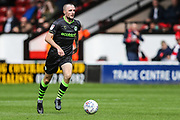 Forest Green Rovers Carl Winchester(7) runs forward during the EFL Sky Bet League 2 match between Walsall and Forest Green Rovers at the Banks's Stadium, Walsall, England on 10 August 2019.