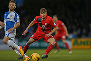 York City defender, on loan from Huddersfield Town, William Boyle  during the Sky Bet League 2 match between Bristol Rovers and York City at the Memorial Stadium, Bristol, England on 12 December 2015. Photo by Simon Davies.