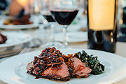 Grilled Beef Tenderloin Northstar Winery Harvest Dinner