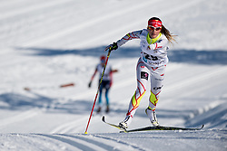HUDAK Brittany, CAN, Middle Distance Cross Country, 2015 IPC Nordic and Biathlon World Cup Finals, Surnadal, Norway