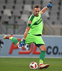 Cape Town-180804 Cape Town City goalkeeper Peter Leeuwenburg in a game against Supersport in the first game of the 2018/2019 season at Cape Town Stadium.photograph:Phando Jikelo/African News Agency/ANAr