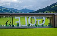 WESTENDORF -  Tirol   Oostenrijk,  - Drivin' range,  Golfanlage Kitzbuheler Alpen Westendorf.    COPYRIGHT KOEN SUYK