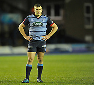 Cardiff Blues' Garyn Smith<br /> <br /> Photographer Mike Jones/Replay Images<br /> <br /> Guinness PRO14 Round 14 - Cardiff Blues v Cheetahs - Saturday 10th February 2018 - Cardiff Arms Park - Cardiff<br /> <br /> World Copyright © Replay Images . All rights reserved. info@replayimages.co.uk - http://replayimages.co.uk