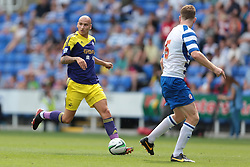 Swansea City midfielder Jonjo Shelvey (8) in action during the pre-season friendly game between Reading and Swansea City.  Photo mandatory by-line: Nigel Pitts-Drake/JMP  - Tel: Mobile:07966 386802 27/07/2013 - Reading v  Swansea City  - SPORT - FOOTBALL - pre-season - Reading - Madejski Stadium