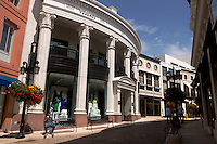 Versace Store at Rodeo Drive, Beverly Hills, California