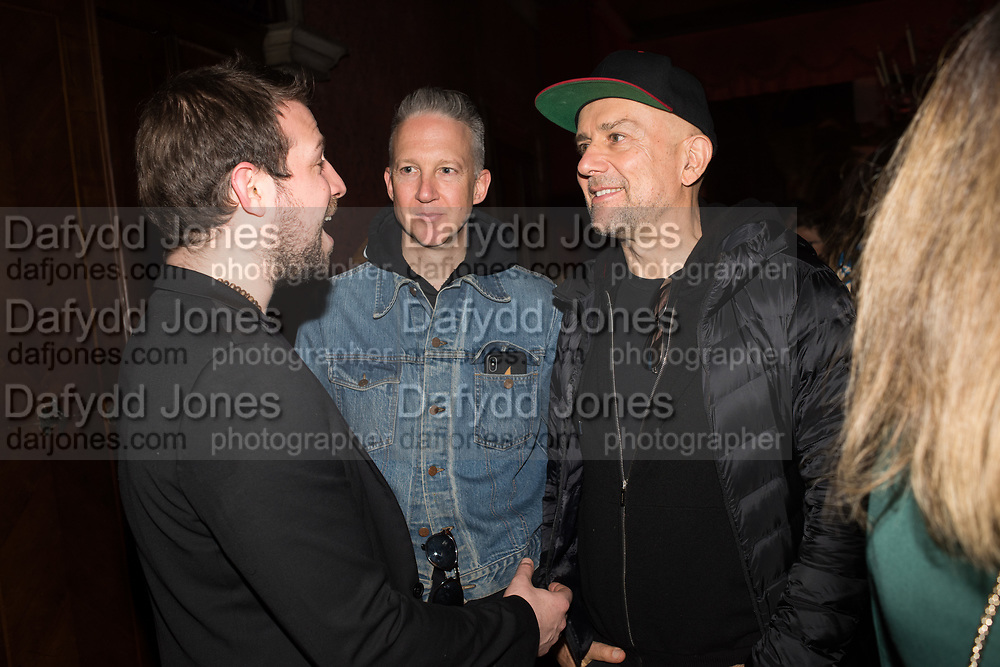 JEFFERSON HACK, MARK QUINN, SERPENTINE PARTY, Palazzo Benzon  9 May 2019