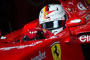 February 26-28, 2015: Formula 1 Pre-season testing Barcelona : Sebastian Vettel (GER), Ferrari