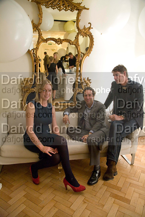 FLORA FAIRBAIRN; BEN RAWLINSON PLANT; JAMES COOPER, Vogue Fantastic  Fashion Fantasy Party in association with  Van Cleef and Arpels and to celebrate Vogue's secret address book. 1 Marylebone Rd. London. 3 November 2008 *** Local Caption *** -DO NOT ARCHIVE -Copyright Photograph by Dafydd Jones. 248 Clapham Rd. London SW9 0PZ. Tel 0207 820 0771. www.dafjones.com