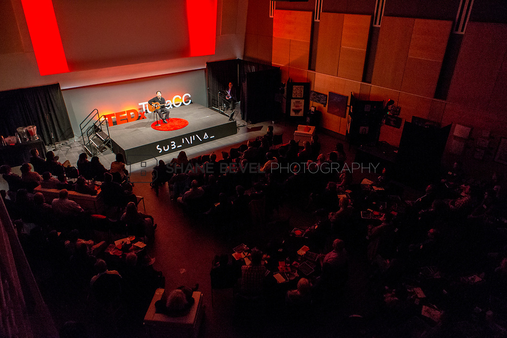 4/29/17 6:02:53 PM -- Tedx TulsaCC event at the Center for Creativity. Released under Creative Commons license for non commercial, non derivative usage. <br /> <br /> Photo by Shane Bevel