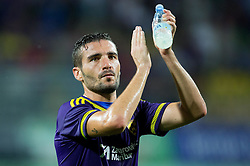 Aleksander Rajcevic #26 of Maribor after the First Leg football match between NK Maribor and FC Astana in Second qualifying round of UEFA Champions League, on July 14, 2015 in Stadium Ljudski vrt, Maribor, Slovenia. Photo by Vid Ponikvar / Sportida