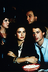 1986, Film Title: ABOUT LAST NIGHT, Director: EDWARD ZWICK, Pictured: 1986, BRATPACK, CHOOSING THE RIGHT PERSON, ROB LOWE, DEMI MOORE, ROMANCE, SETTLING DOWN, YUPPIES. (Credit Image: SNAP/ZUMAPRESS.com) (Credit Image: © SNAP/Entertainment Pictures/ZUMAPRESS.com)