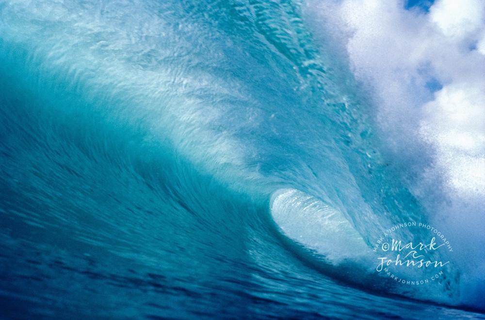 Powerful tubing wave, Hawaii