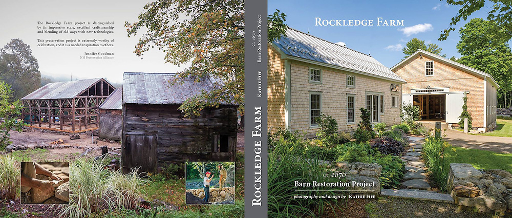 "Three years in the making of my new book, ""Rockledge Farm: c1870 Barn Restoration Project"". It is the story and photo documentary of the oldest, most original, intact barn in NH. Truly, a dream come true to work on a project like this with incredibly gifted craftsmen and an amazing client.<br />