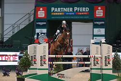 Krause, Nancy, Antallia<br /> Leipzig - Partner Pferd<br /> Einl. Partner Pferd Cup<br /> © www.sportfotos-lafrentz.de/Stefan Lafrentz