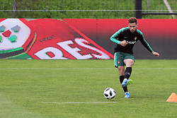 May 30, 2018 - Lisbon, Portugal - Portugal's defender Raphael Guerreiro in action during a training session at Cidade do Futebol (Football City) training camp in Oeiras, outskirts of Lisbon, on May 30, 2018, ahead of the FIFA World Cup Russia 2018 preparation matches against Belgium and Algeria...........during the Portuguese League football match Sporting CP vs Vitoria Guimaraes at Alvadade stadium in Lisbon on March 5, 2017. Photo: Pedro Fiuzaduring the Portugal Cup Final football match CD Aves vs Sporting CP at the Jamor stadium in Oeiras, outskirts of Lisbon, on May 20, 2015. (Credit Image: © Pedro Fiuza/NurPhoto via ZUMA Press)