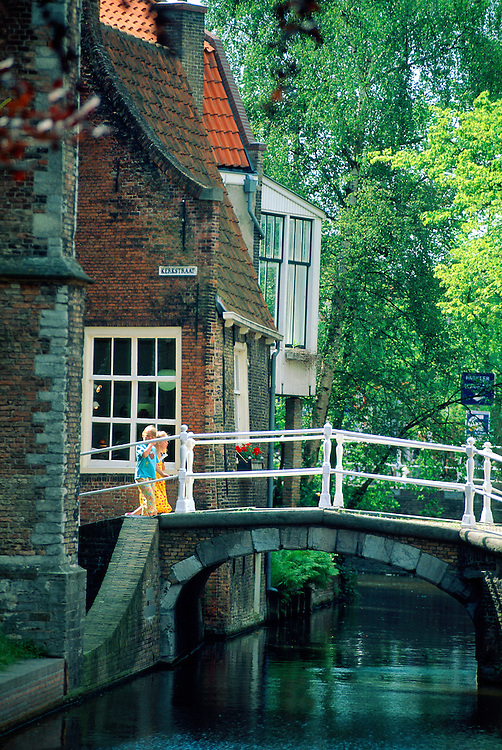 Canal, Delft, The Netherlands