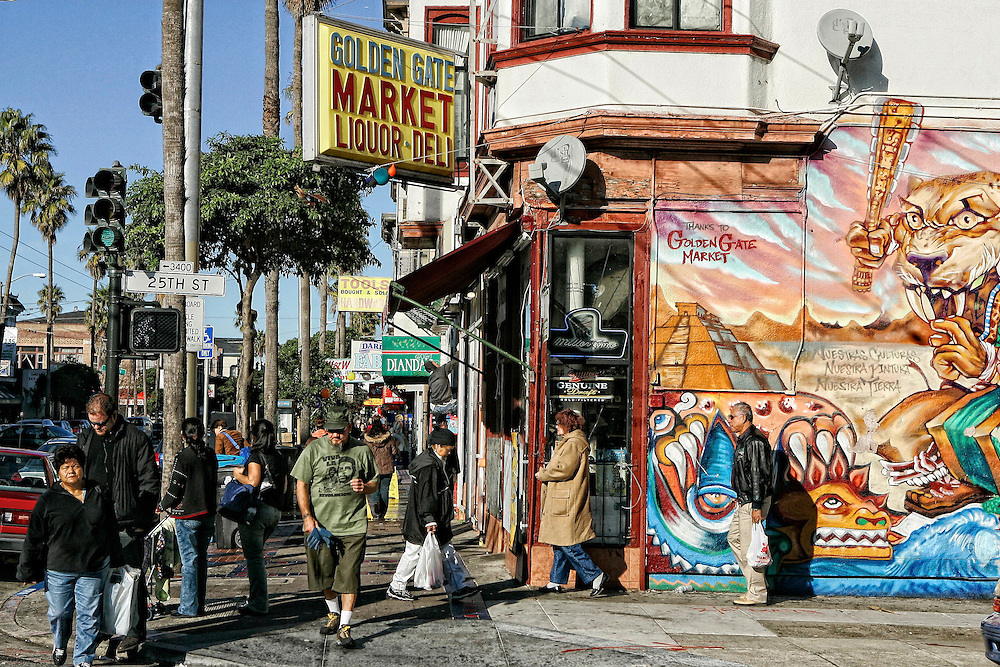 Urban setting in the mission area of San Francisco. Mandatory Credit: Dinno Kovic / Dinno Kovic Photography