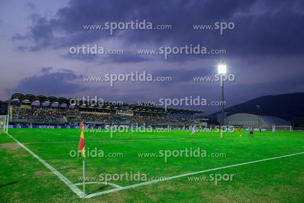 Stadium during football match between ND Gorica and NK Maribor in 9th Round of Prva liga Telekom Slovenije 2015/16, on September 12, 2015, in Sports centrum Nova Gorica, Slovenia. Photo by Vid Ponikvar / Sportida