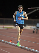 May 2, 2019; Stanford, CA, USA; Ben True wins the 10,000m in 27:52.39 during the 24th Payton Jordan Invitational at Cobb Track & Angell Field.