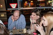 GAVIN TURK; MARTHA FIENNES, Liberatum Cultural Honour  for John Hurt, CBE in association with artist Svetlana K-Lié.  Spice Market, W London - Leicester Square