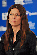 11.SEPT.2010. TORONTO<br /> <br /> CATHERINE KEENER ATTENDS THE PRESS CONFRENCE OF NEW FILM TRUST AT THE 35TH TORONTO FILM FESTIVAL IN TORONTO.<br /> <br /> BYLINE: EDBIMAGEARCHIVE.COM<br /> <br /> *THIS IMAGE IS STRICTLY FOR UK NEWSPAPERS AND MAGAZINES ONLY*<br /> *FOR WORLD WIDE SALES AND WEB USE PLEASE CONTACT EDBIMAGEARCHIVE - 0208 954 5968*