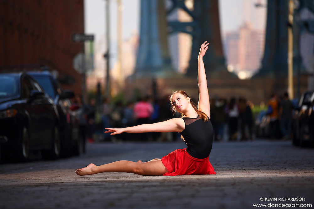 Dance As Art Streets of Dumbo Series with dancer