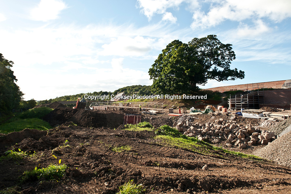 Picture by Christian Cooksey/CookseyPix.com.<br /> <br /> The restoration of the Walled Garden at Dumfries House, Ayrshire.