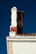 Tercera Orden Church tower and balcony (1628)., Cartagena de Indias, Bolivar Department,, Colombia, South America.